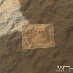 Curiosity - powierzchnia skały