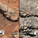 Curiosity - Woda na Marsie 1