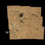 Curiosity - Woda na Marsie 2
