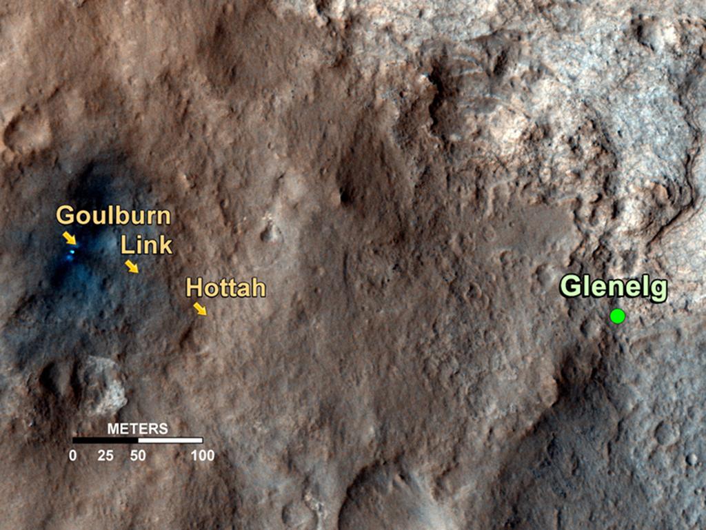 Curiosity - Woda na Marsie 3