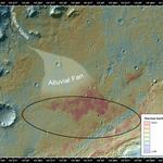 Curiosity - Woda na Marsie 4