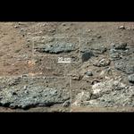 Curiosity - Woda na Marsie 5