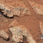 Curiosity - Woda na Marsie 6